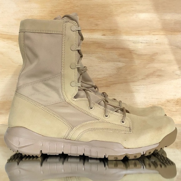 2bd1c2e3cfc Nike SFB Special Field Military Tactical Tan Boots NWT